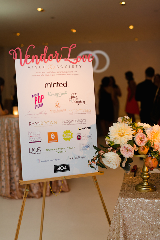 Aisle Society Debut Party sponsored by Minted | Jessica Haley Photography | @aislesociety | see more on: http://burnettsboards.com/2016/01/aisle-society-debut-sponsored-minted/