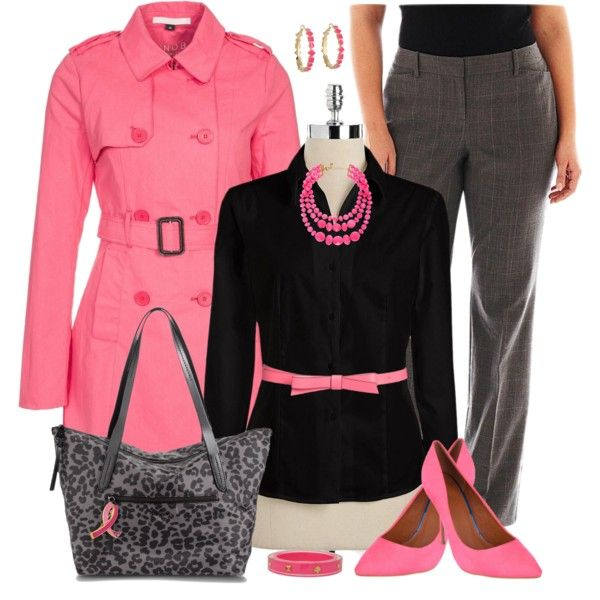 pink outfits for plus size girls (6)