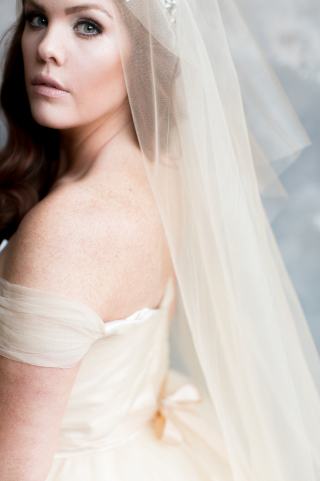 Romantic tulle wedding dress | Alea Lovely Photography | see more on: http://burnettsboards.com/2016/01/affordable-couture-wedding-dresses/
