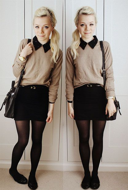 how to wear black tights (14)