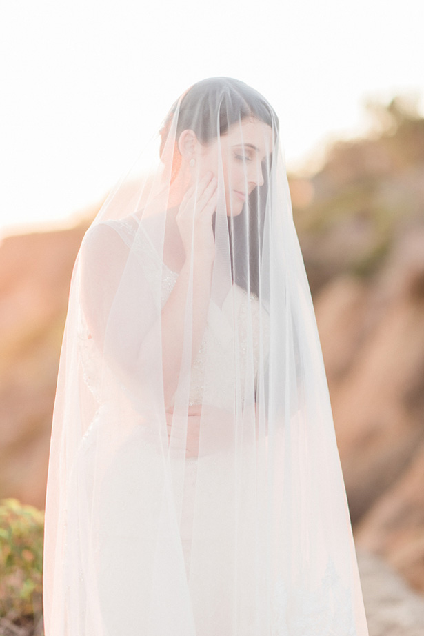 Wedding veil - Angelica Chang Photography