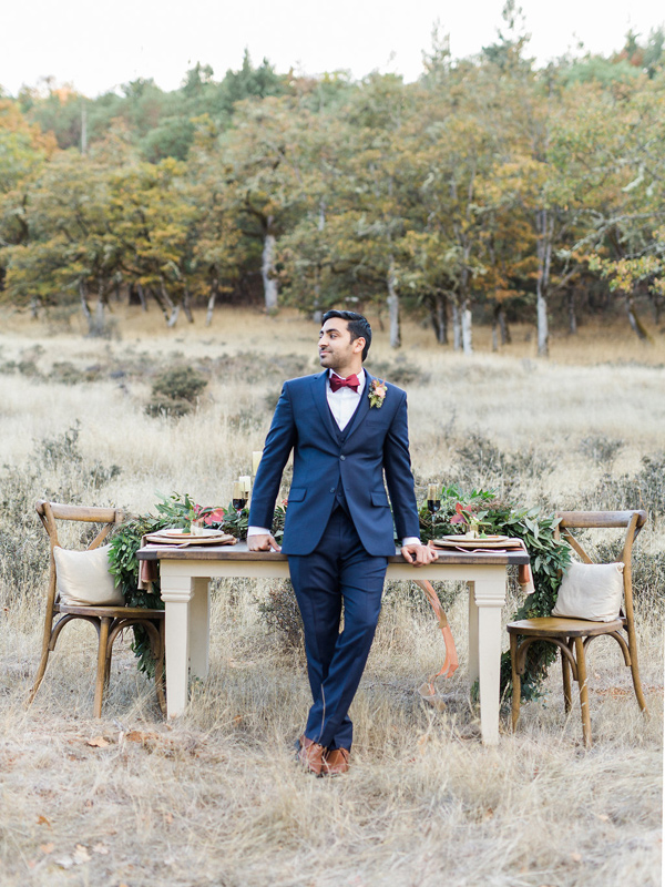 groom look - photo by Rebecca Masters Photography http://ruffledblog.com/mountain-vineyard-wedding-inspiration