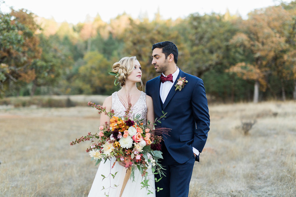 Ruffled - photo by Rebecca Masters Photography http://ruffledblog.com/mountain-vineyard-wedding-inspiration