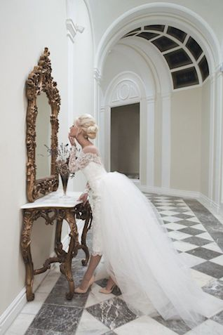 House of Mooshki wedding dress | see more on: http://burnettsboards.com/2016/01/publishing-blogs-v-print/