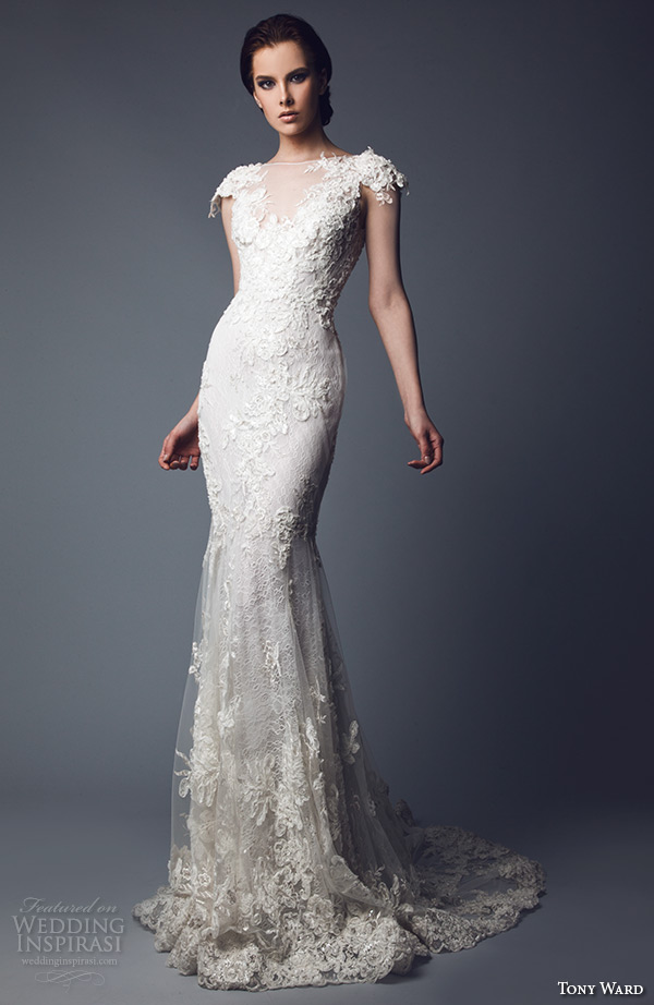 tony ward 2016 bridal off the shoulder beaded bodice horse hair trimmed layered wedding ball gown dress ida 2