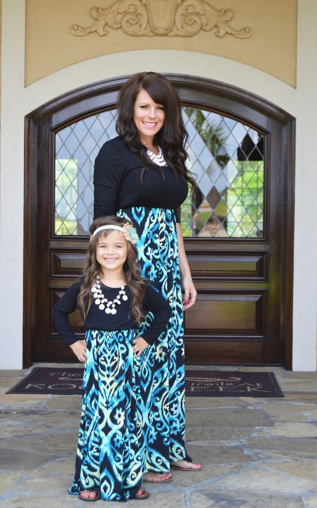 matching dresses for mothers and daughters (5)