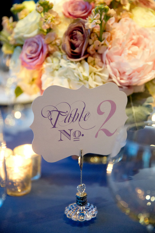 table number - Dawn Joseph Photography