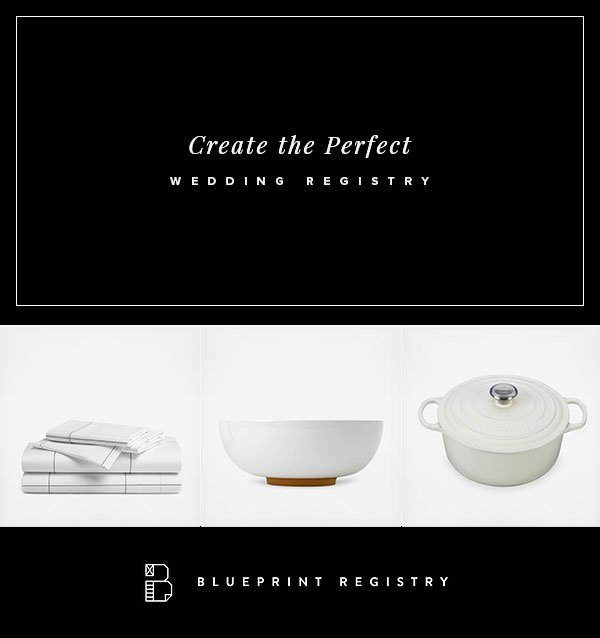 Wedding Registry with Blueprint Registry | http://ruffledblog.com/blueprint/