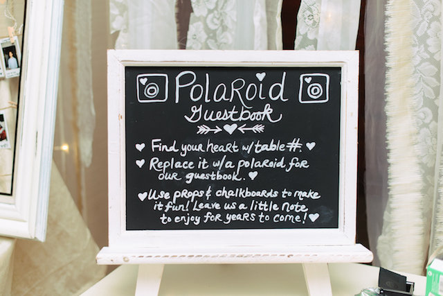 Polaroid wedding guestbook | Madison Short Photography | see more on: http://burnettsboards.com/2016/01/taylor-swift-inspired-wedding/