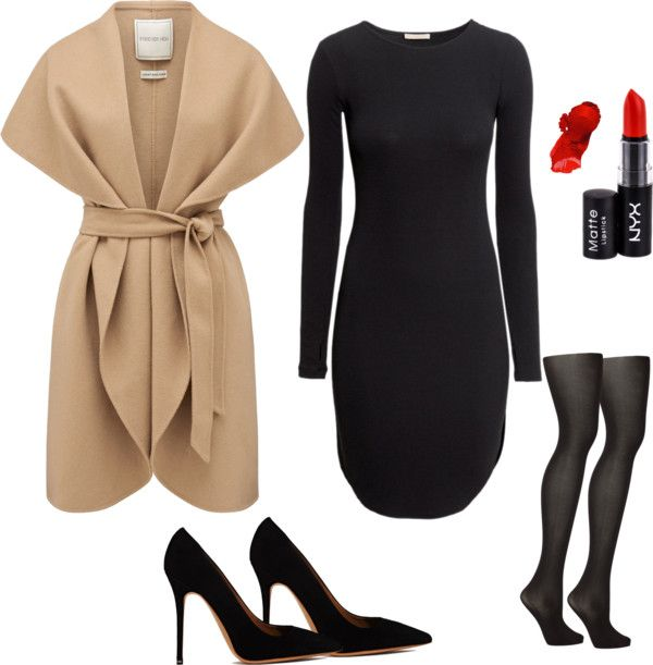 how to wear black tights (6)