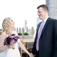 Rooftop Wedding - Dawn Joseph Photography
