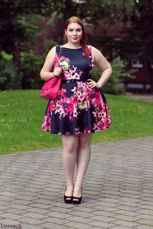pink outfits for plus size girls (18)