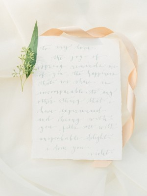 Wedding Love Letter - Angelica Chang Photography