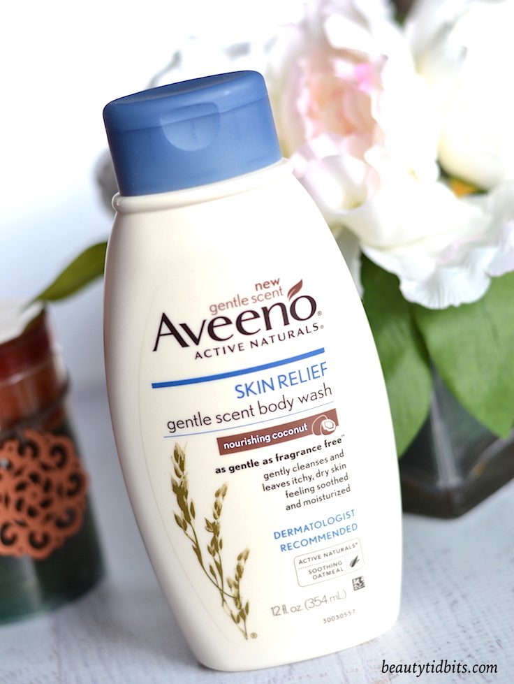 AVEENO Skin Relief Gentle Scent Nourishing Coconut Body Wash