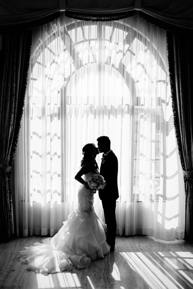 Romantic wedding picture - William Innes Photography