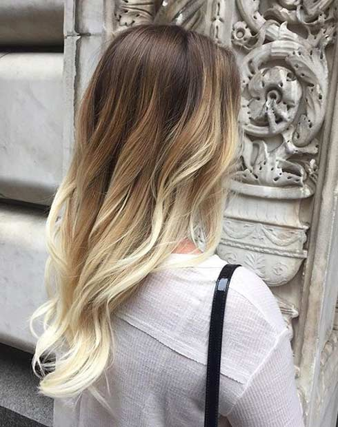 Perfect Sun Kissed Hair Color Look