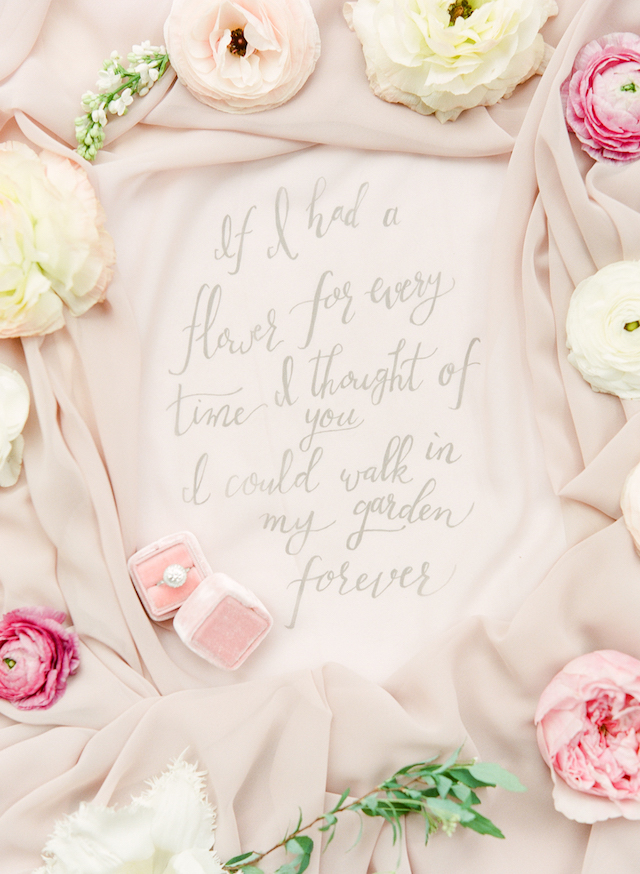 Romantic quote | Connie Whitlock Photography | see more on: http://burnettsboards.com/2016/02/blush-pink-anniversary-session/