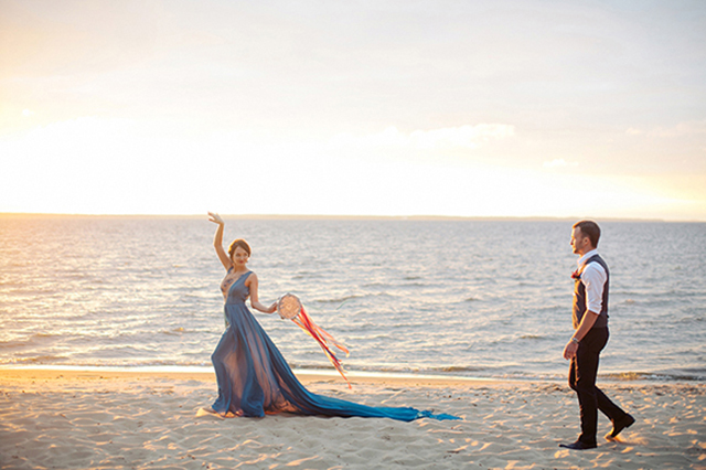 Tamborine | Sergey Bulychev and Sergey Ulanov | see more on: http://burnettsboards.com/2016/02/free-wind-beach-wedding-editorial/