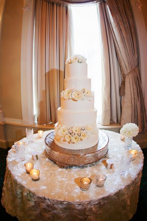 wedding cake table - Limelight Photography
