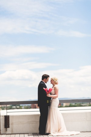Rooftop wedding picture - Emily Joanne Wedding Films & Photography