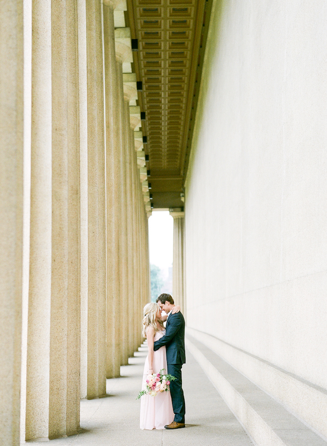 Nashville anniversary shoot | Connie Whitlock Photography | see more on: http://burnettsboards.com/2016/02/blush-pink-anniversary-session/