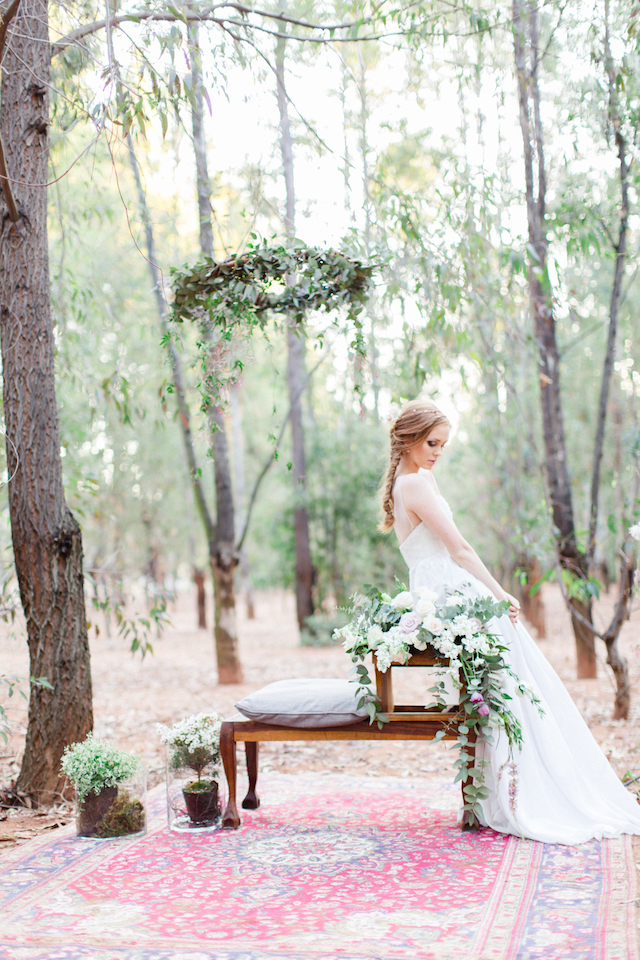 Bohemian forest elopement | Carolien & Ben Photography | see more on: http://burnettsboards.com/2016/02/south-african-bohemian-forest-elopement/
