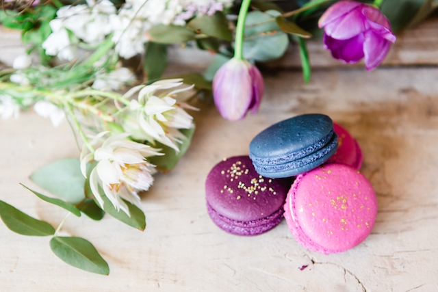 Jewel-toned macarons | Carolien & Ben Photography | see more on: http://burnettsboards.com/2016/02/south-african-bohemian-forest-elopement/