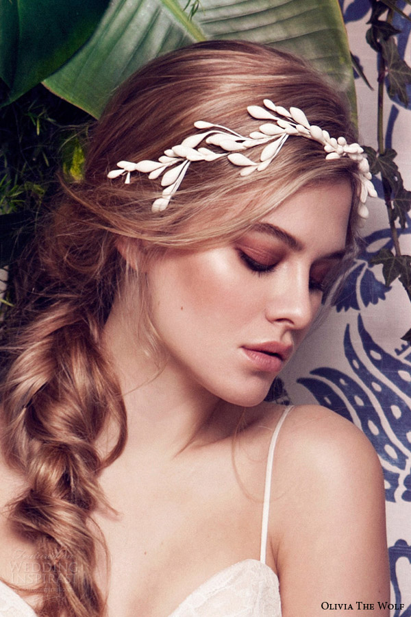 olivia the wolf headpieces 2016 bridal accessories josephine floral head piece
