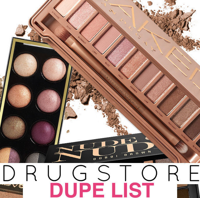 The ultimate list of more than 30 best drugstore makeup dupes, most under $  10!