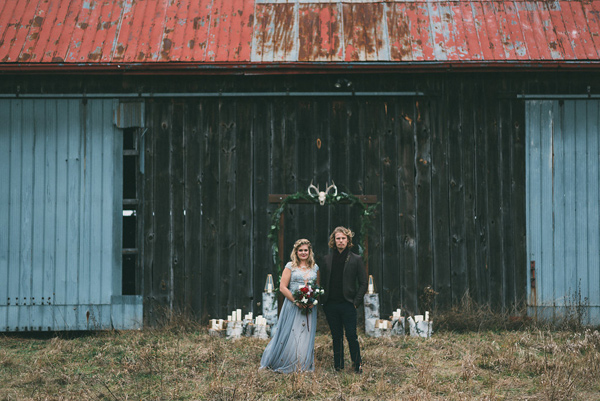 Ruffled - photo by LV Imagery http://ruffledblog.com/nordic-inspired-woodland-wedding