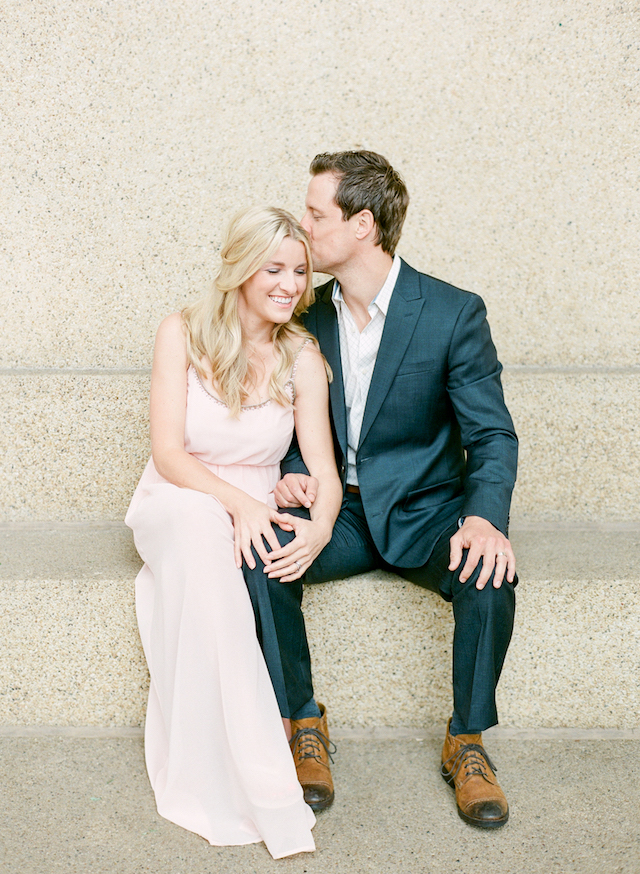 Romantic anniversary session | Connie Whitlock Photography | see more on: http://burnettsboards.com/2016/02/blush-pink-anniversary-session/