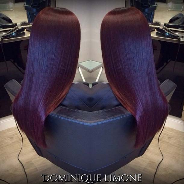 Wine Red Hair Color
