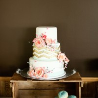 Wedding Cake - Kate Wenzel Photography