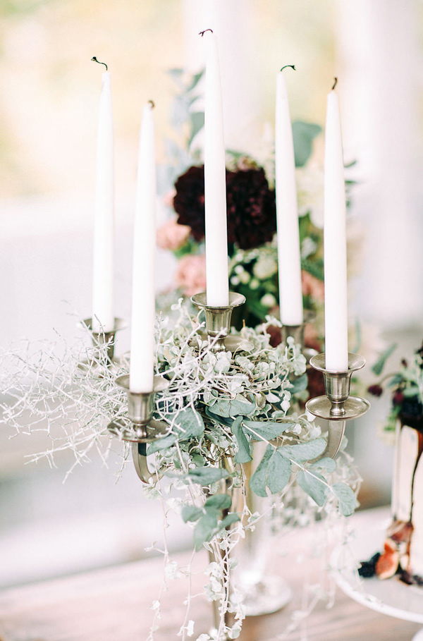romantic tablescape ideas - photo by Petra Veikkola Photography http://ruffledblog.com/finnish-mansion-wedding-inspiration