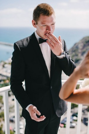 Wedding First look - Vitaly M Photography
