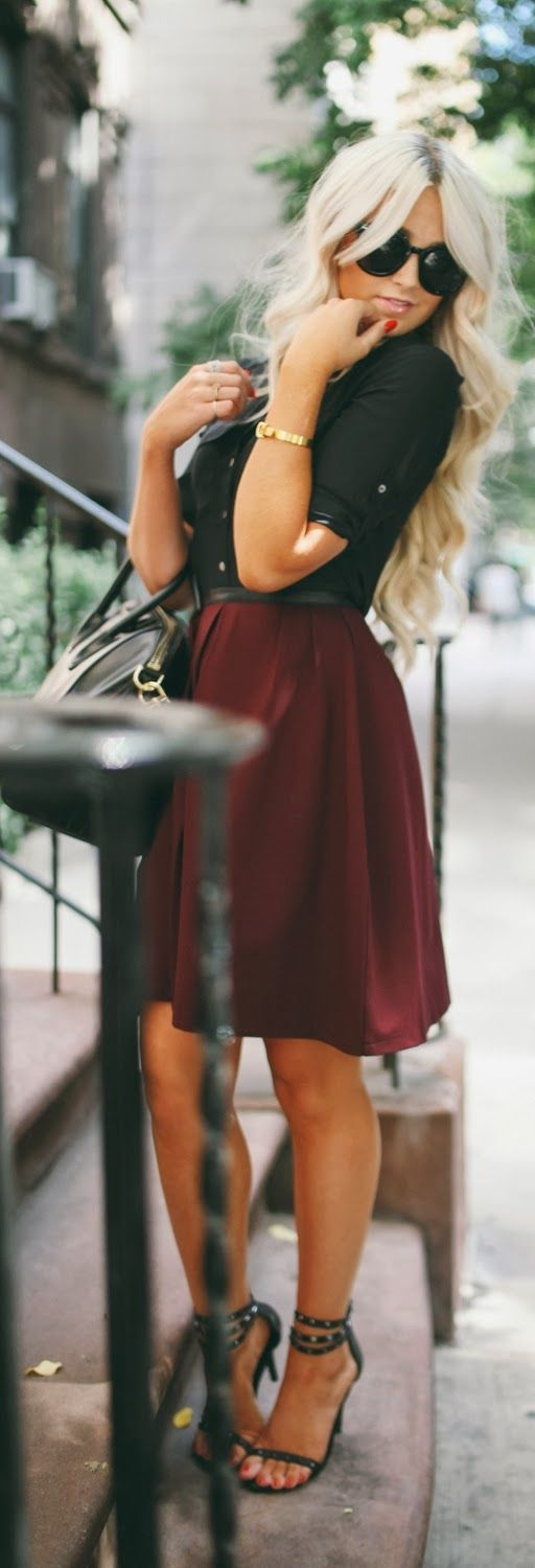 Cute Outfits for Women With Curly Hair (5)