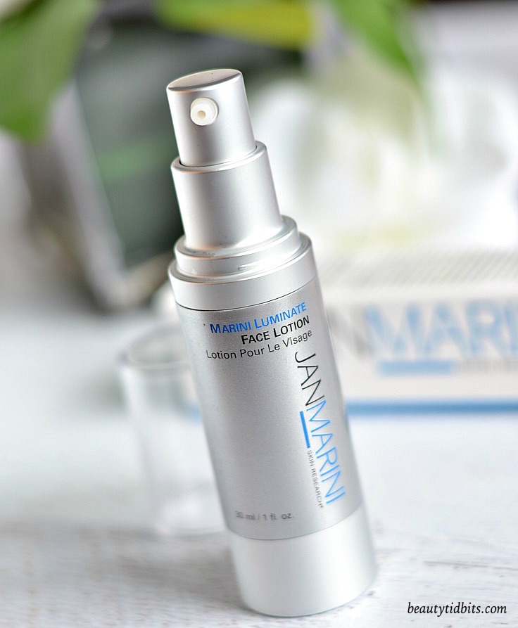 Looking for an effective, brightening face lotion without hydroquinone to fade your dark spots? Marini Luminate Face Lotion is the way to go!