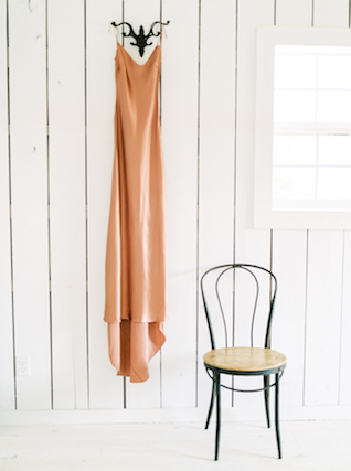 Peach slip | Callie Manion Photography