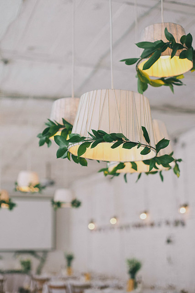 wedding reception lampshades Photographer Elina Sazonova
