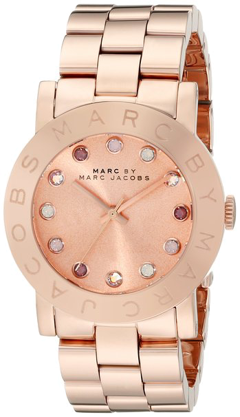 Marc by Marc Jacobs Amy Watch Rose Gold