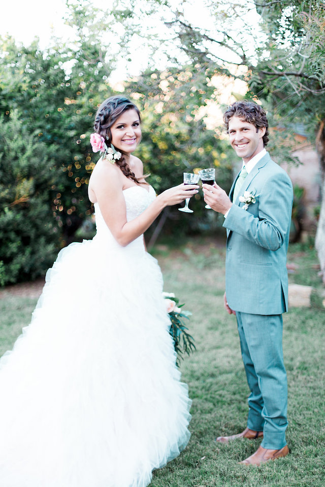 First toast | Stephanie Ponce Photography