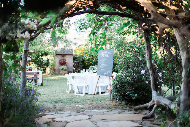 Rustic garden wedding in California | Stephanie Ponce Photography