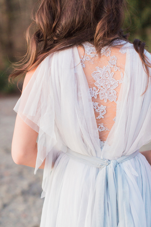 lace gown detail - photo by Simply Sweet Photography by Nomo Akisawa http://ruffledblog.com/nordic-beach-wedding-inspiration