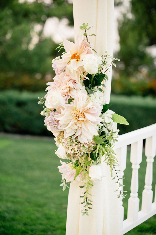 Wedding floral decorations - Melvin Gilbert Photography