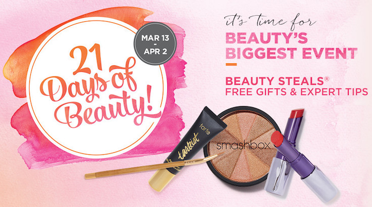Ulta 21 Days of Beauty Spring 2016