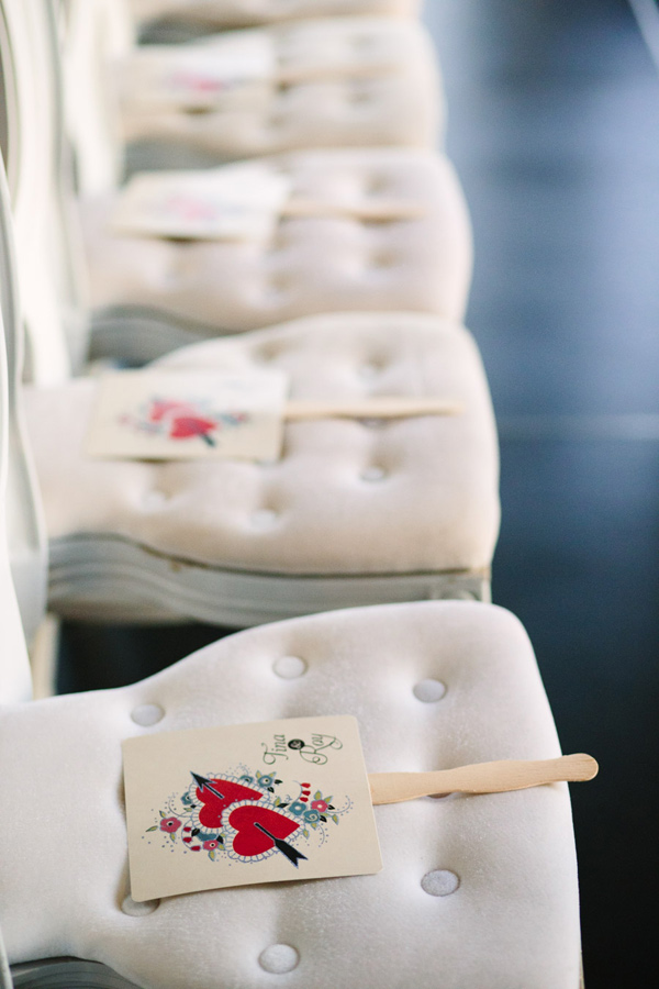 ceremony seating - photo by Mary Costa Photography http://ruffledblog.com/schoolhouse-charm-wedding-inspiration
