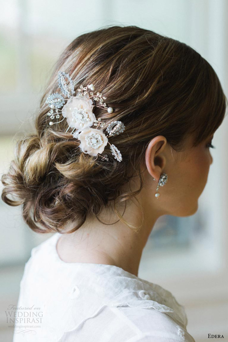 edera jewelry 2016 bridal accessories collection (coralie) hair pins
