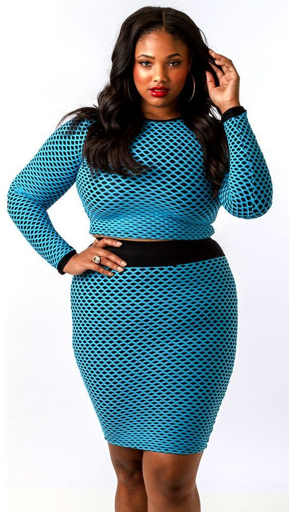 Fashionable Outfits For Plus Size Ladies (2)