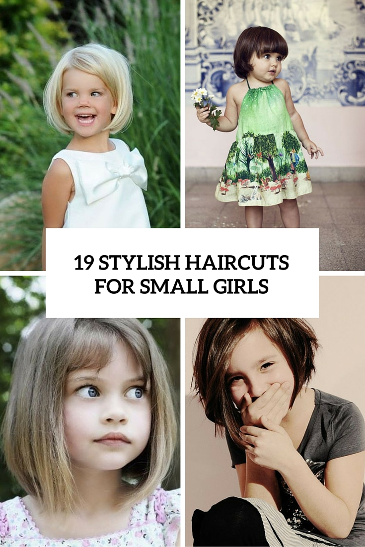 19 Super Cute And Stylish Haircuts For Small Girls Beauty