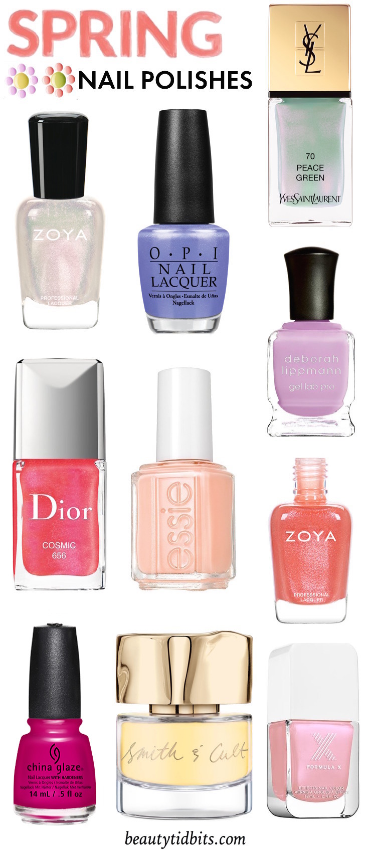 Bright manis are in bloom! Get on-trend for spring with these pretty polishes!
